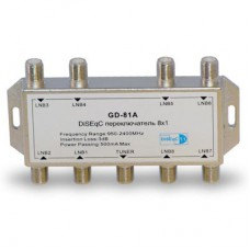 8x1   DiSEgC switch 8x1, GD-81A, 1/100