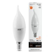 E14/    6.0Вт 2700К LED лампа Gauss Elementary Candle