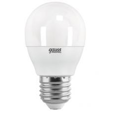 E27/    6.5Вт 4100К Gauss LED Elementary Glob