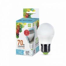 Лампа ASD LED ШАР standart E27 7.5Вт 4000К 675Лм