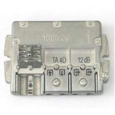 T4/12  5444 Televes, ответвитель на 12 дб, 4 TAP