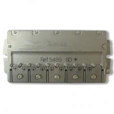 1x8  5489 Televes, делитель 5-2450МГц
