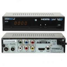 Эфирный DVB-T2, Openmax DT210 Lux DD (AC3), USB-PVR