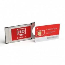 Комплект CAM Irdeto с картой для приема МТС ТВ (1 мес)