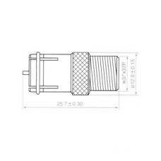 Переход F(female) - F(male) цинк H3015ZN