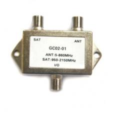 Сумматор SAT+TV GC02-01, 1/200